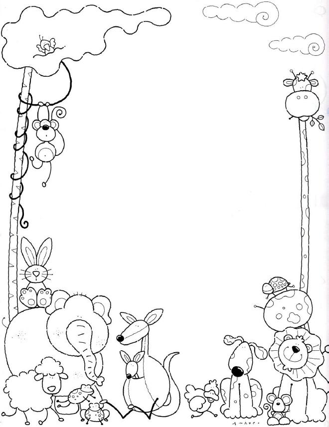 60 Imágenes de animales para colorear dibujos | Colorear imágenes