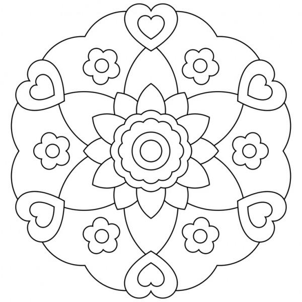 Lujoso Páginas Para Colorear De Flores Duras Para Niñas De 10 Años ...