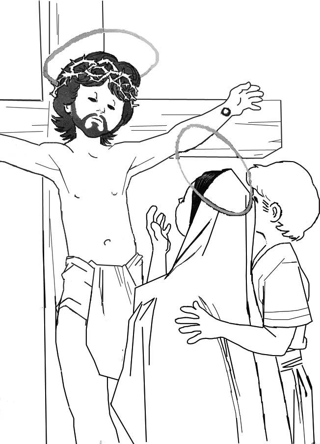 Imágenes De Semana Santa Dibujos Para Colorear Colorear