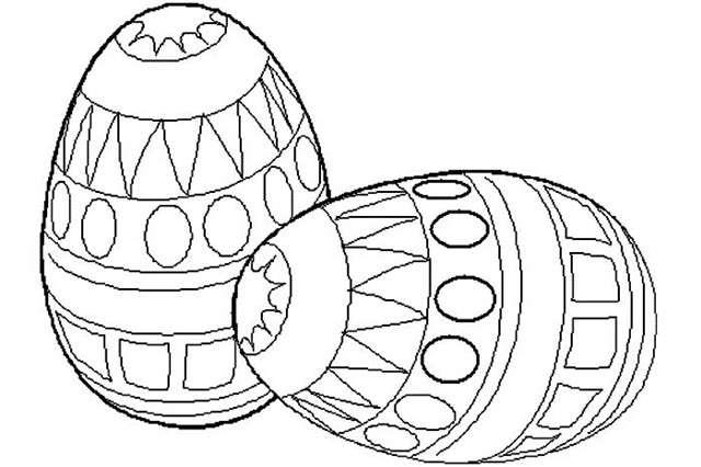 Dibujos De Huevos De Pascua Para Colorear Colorear Im 225 Genes