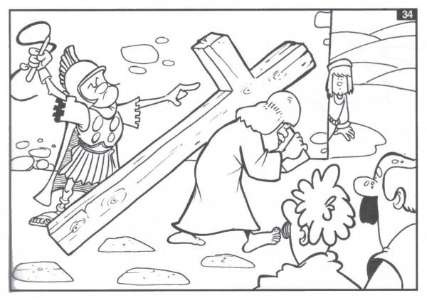 Imágenes de Semana Santa Dibujos para colorear | Colorear imágenes
