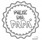 60 Imágenes del día del Padre dibujos para colorear, descargar, imprimir