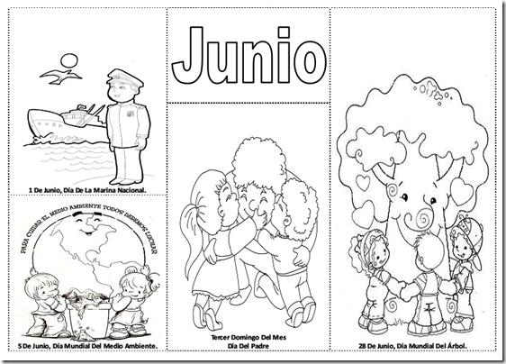 Imágenes Del Mes De Junio Dibujos Para Colorear Colorear