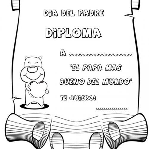 Dibujos Con Frases Para Colorear Y Regalar A Papá En Su Día
