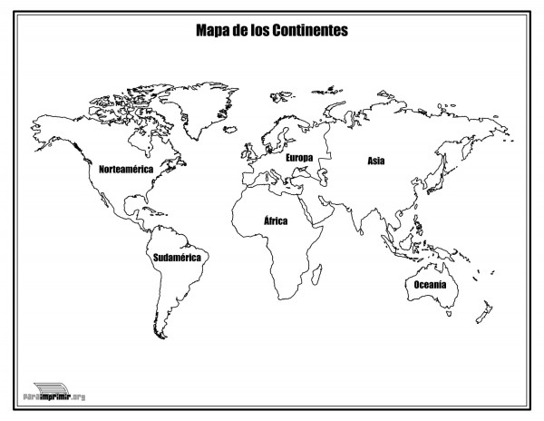 Dibujos de Mapas de Asia y Paises para colorear | Colorear imágenes