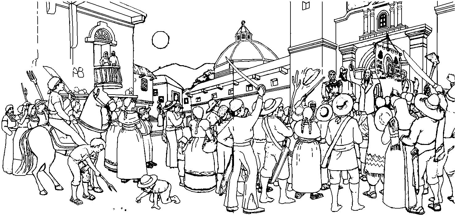 Imágenes de la Independencia de Chile dibujos para colorear ...