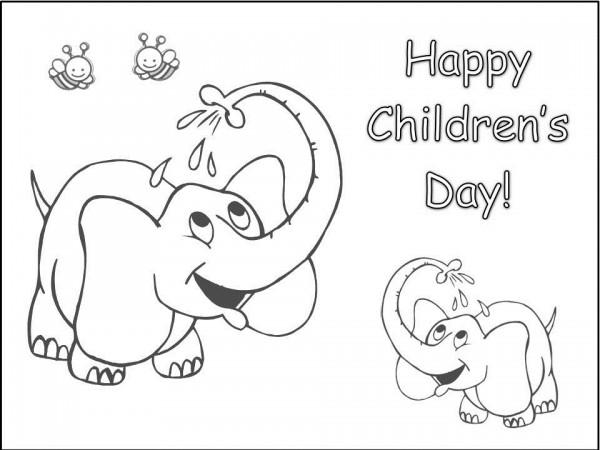 60 Imágenes Con Dibujos Del Día Del Niño Para Colorear Colorear