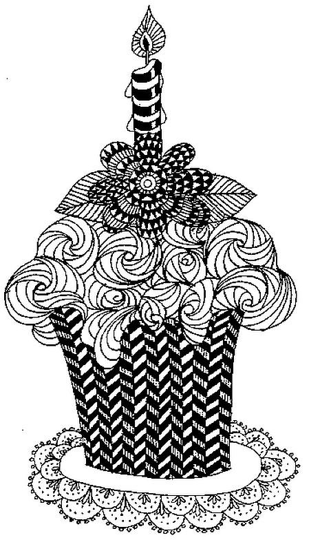 Volwassen Kleurplaten En Mandalas 60 Dibujos De Feliz Cumplea 241 Os Para Colorear Colorear