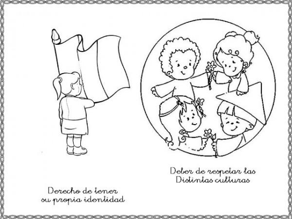 60 Imágenes Con Dibujos Del Día Del Niño Para Colorear
