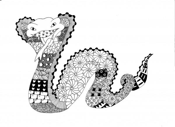 60 Mandalas De Animales Para Colorear (Zentangles