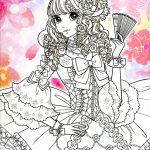 Imágenes kawaii (60 dibujos para colorear)