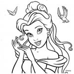 60 Dibujos de Princesas para colorear