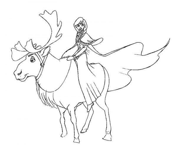 Dibujos Para Colorear De La Princesa Elsa: 60 Imágenes De PRINCESAS DIBUJOS Para COLOREAR
