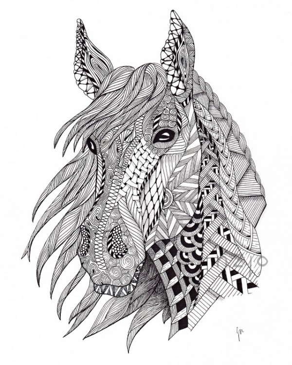 60 mandalas de animales para colorear zentangles - Comment dessiner spirit ...