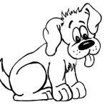 Dibujos de perros y gatos para colorear