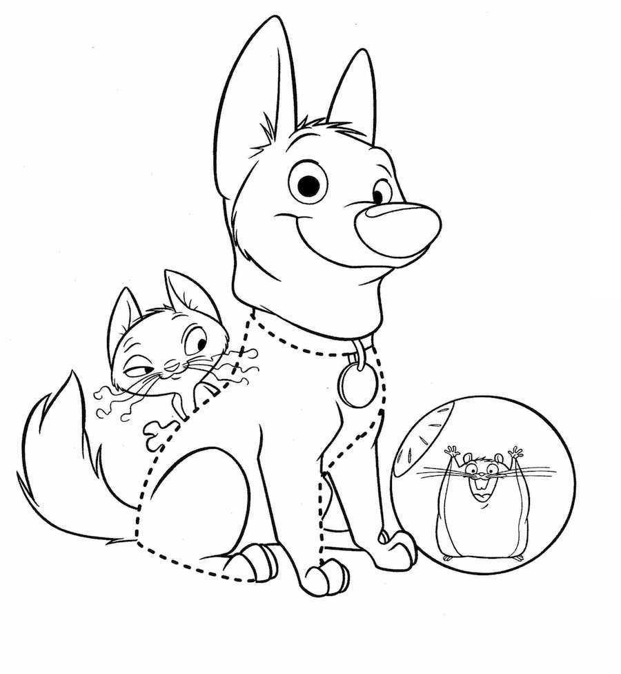 Bonito Lindo Perro Para Imprimir Para Colorear Molde - Dibujos Para ...