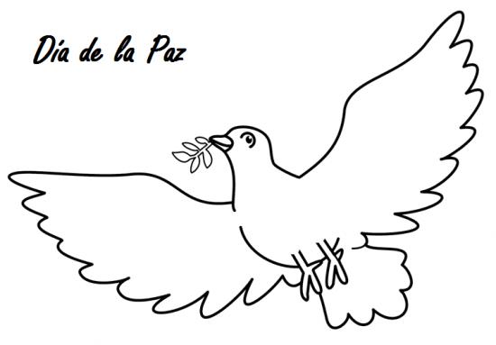 Imágenes Para Colorear Dibujos Del Día De La Paz Colorear Imágenes