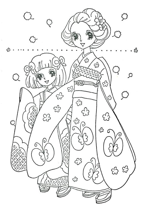 Imágenes kawaii (60 dibujos para colorear) | Colorear imágenes