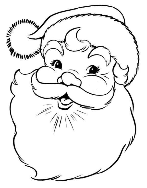 Dibujos Dibujos De Navidad.Dibujos Navidenos De Papa Noel Para Colorear E Imprimir