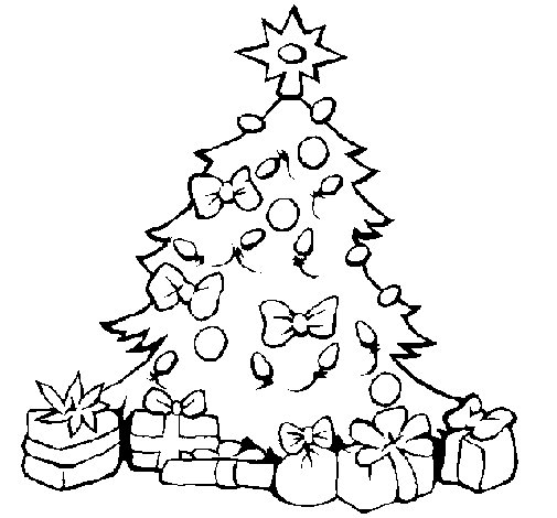 Imágenes De Navidad Para Colorear árboles Estrellas Adornos