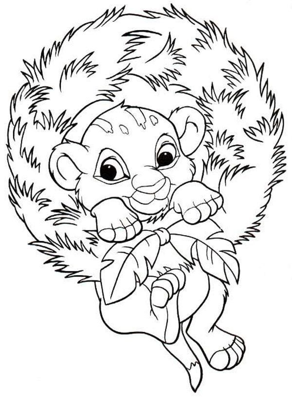Imágenes con Dibujos Navideños de Disney para colorear | Colorear ...