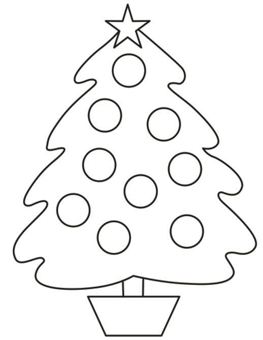 Imágenes de Navidad para colorear: árboles, estrellas, adornos ...