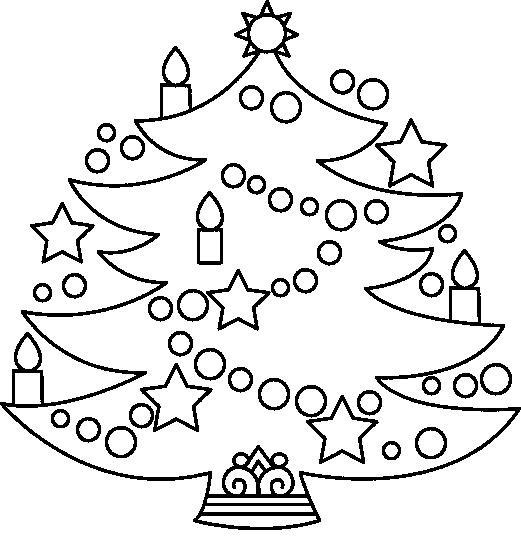 Imagenes de navidad para pintar e imprimir