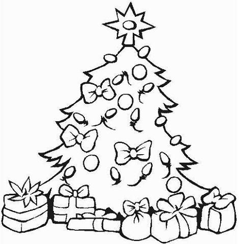 Pinos de Navidad para colorear, descargar e imprimir | Colorear imágenes