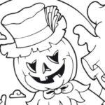 Dibujos de terror para colorear en Halloween