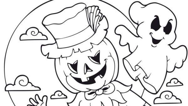 60 Dibujos De Terror Para Colorear En Halloween Colorear Imágenes
