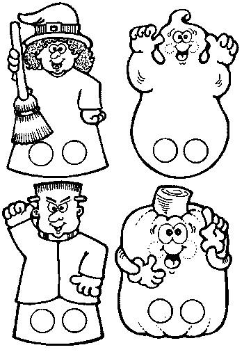 60 Dibujos de TERROR para COLOREAR en HALLOWEEN | Colorear imágenes