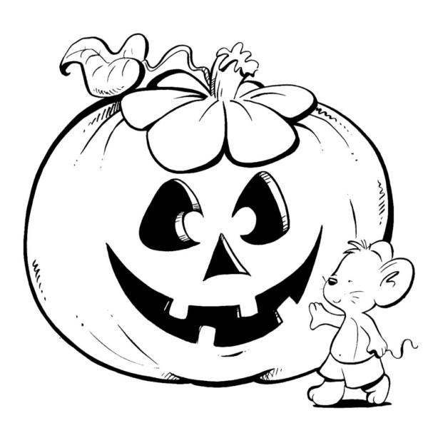 60 dibujos de terror para colorear en halloween colorear im genes - Dibujos para pintar en tejas ...