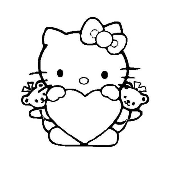 Dibujos Fáciles De Amor A Lápiz Kawaii Para Dibujar Imprimir