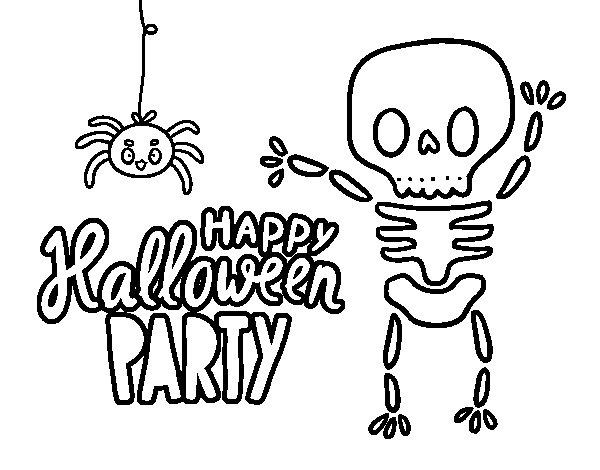 Dibujos Para Colorear De Calabazas De Halloween Para Imprimir: 60 Dibujos De TERROR Para COLOREAR En HALLOWEEN