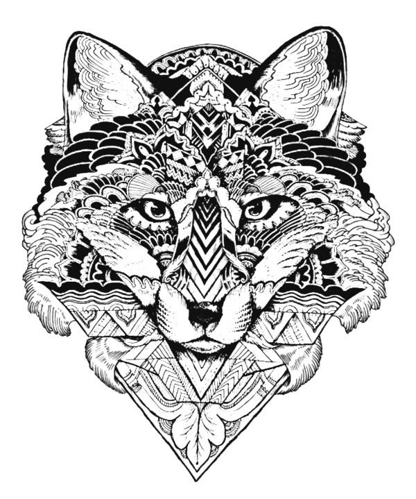 Dibujos de MANDALAS de ANIMALES Y FLORES para Colorear | Colorear ...