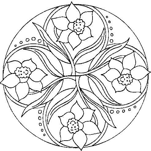 Mandalas De Flores Para Imprimir Gratis Vernajoyce Blogs