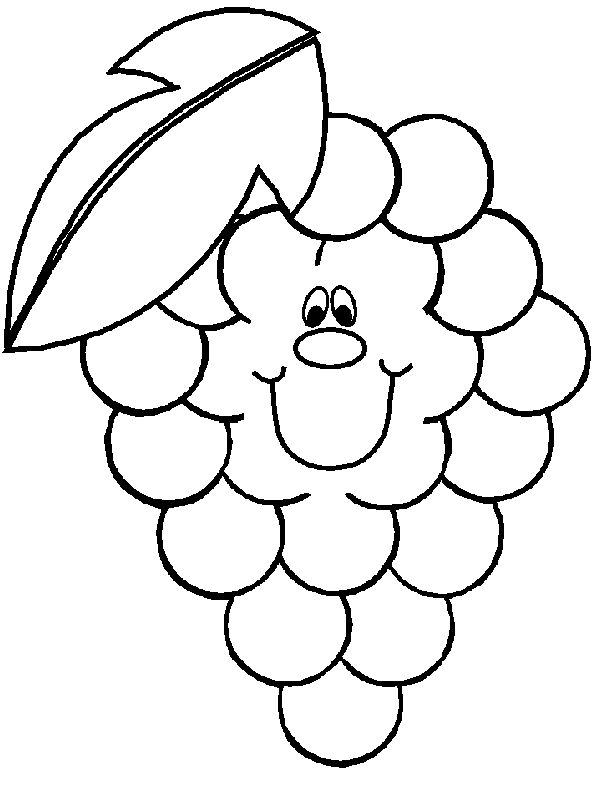 happy apple coloring pages - photo#22
