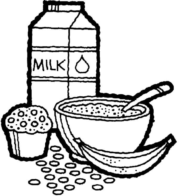 Dibujos de ALIMENTOS para COLOREAR: Saludables, Nutritivos