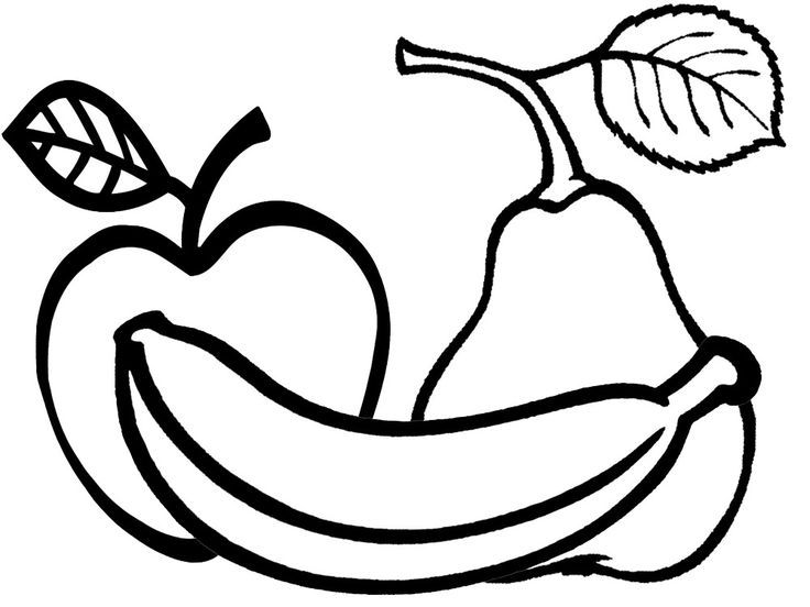 Dibujos De Alimentos Para Colorear Saludables Nutritivos Y Ricos