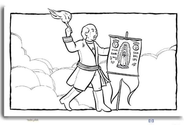 Dibujos Para Colorear De La Batalla De Boyacá Colorear Imágenes