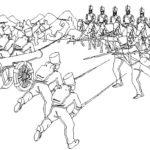 Dibujos para colorear de la Batalla de Boyacá