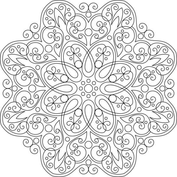 Dibujos De Mandalas Para Colorear Y Relajarse Muy Bonitos Colorear