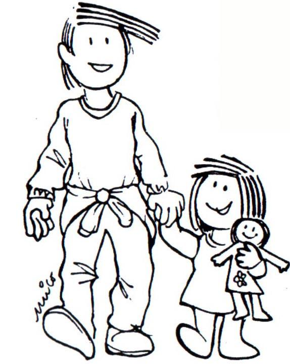 Dibujos De Familias. Best Familia Con Miembros Sordos With Dibujos ...