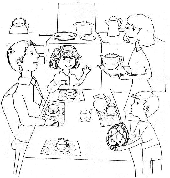 Dibujos del Día de la Familia para descargar, imprimir y colorear ...