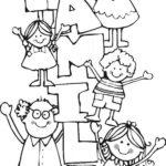 Dibujos del Día de la Familia para descargar, imprimir y colorear
