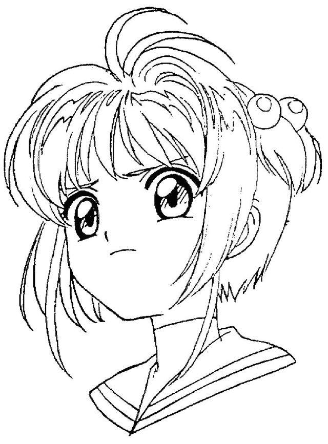Dibujos De Animé Y Manga Para Colorear E Imprimir Colorear Imágenes