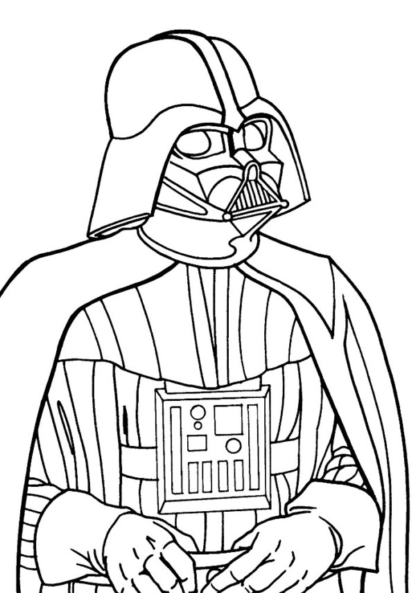 Dibujos Del Dia De Star Wars Para Colorear Colorear Imagenes