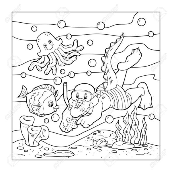 Dibujos para colorear del d a de los oc anos colorear for Immagini estate da colorare
