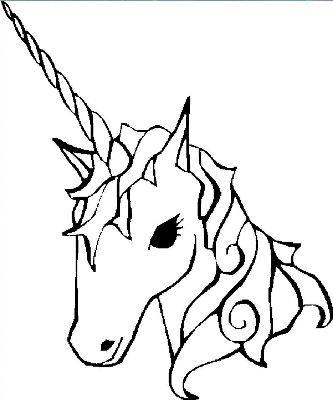 Dibujos De Unicornios Para Colorear Colorear Im 225 Genes