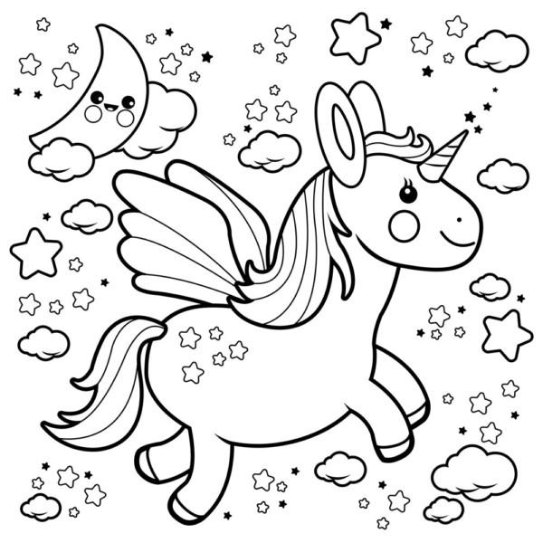 Dibujos De Unicornios Para Colorear Colorear Imágenes